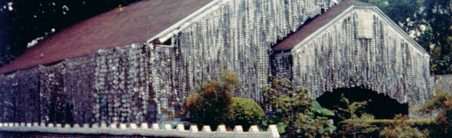 The Beer Can House | Photo courtesy of Orange Show Center for Visionary Art