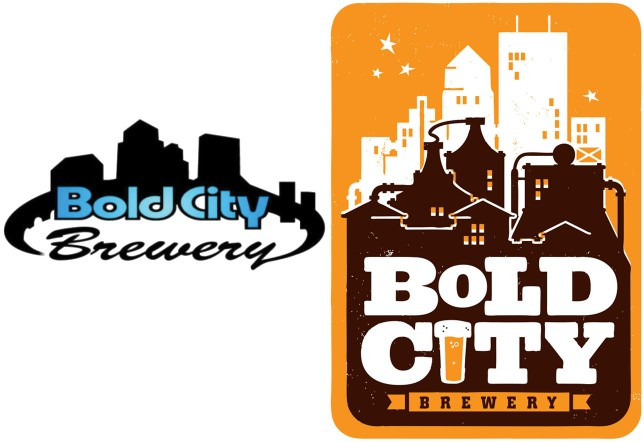 Bold City's first logo was designed by a local student. Then they hired a graphic designer who developed their concept into the logo they use today (right).