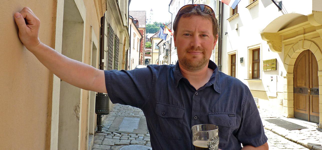 Colorado transplant Matt Wirtz, Expat Pivovar's founder.