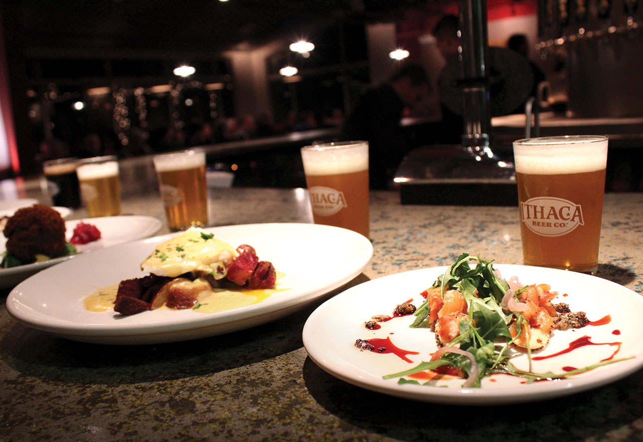 Wild game beer dinner at Ithaca Beer Co. | Photo courtesy of Ithaca Beer Co.