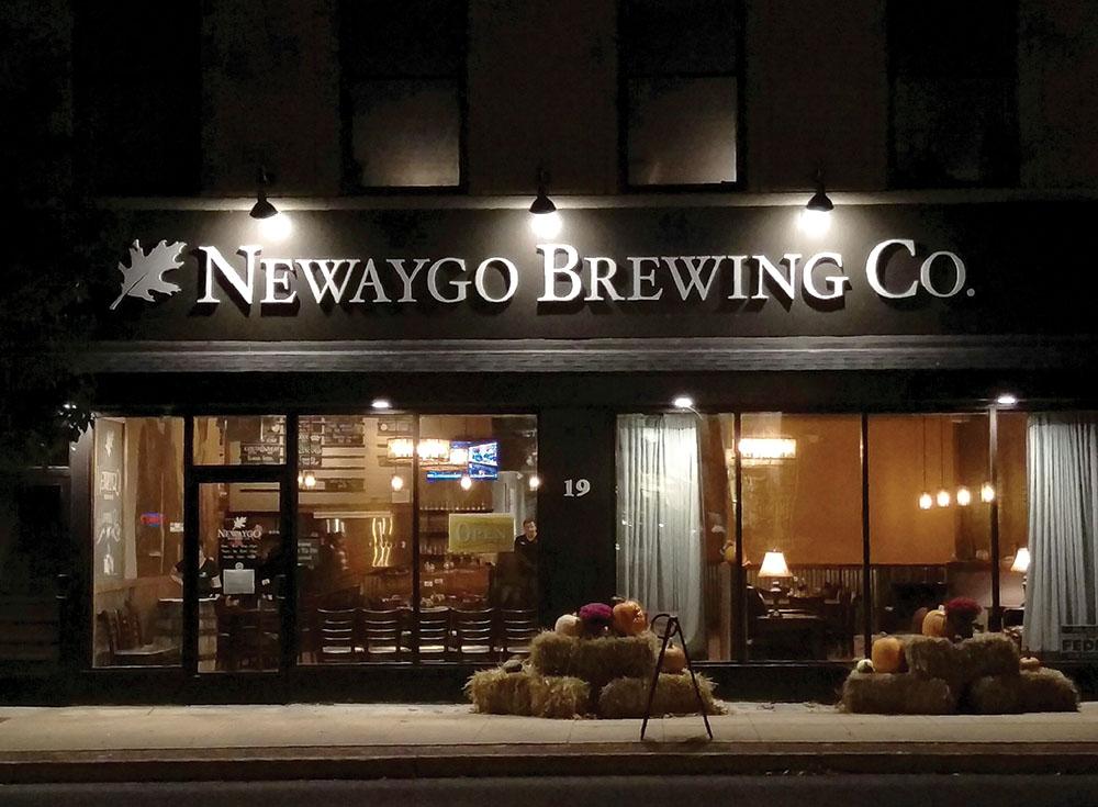 Photo courtesy of Newaygo Brewing Co.