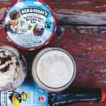 Salted Caramel Brownie was the first Ben & Jerry's flavor recreated in a New Belgium Beer. |  Photo courtesy of New Belgium
