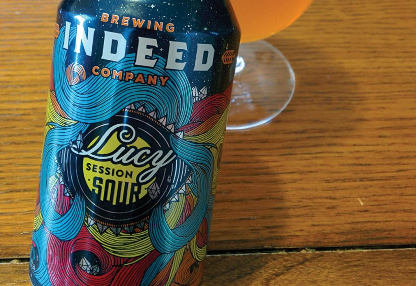 indeed brewing company\u0027s lucy session sour beeradvocatei was happily surprised when this beer came across my desk i was also thankful it was not another ipa while i jest about that a bit, it\u0027s exciting to see