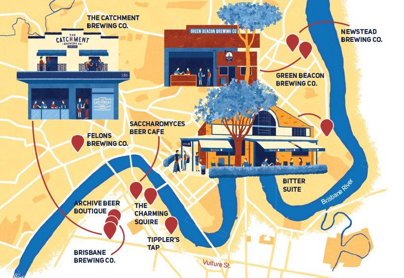 Top craft beer drinking spots in Brisbane, Australia