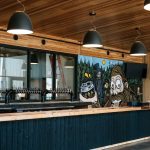 The bar at Great Notion Brewing Northwest