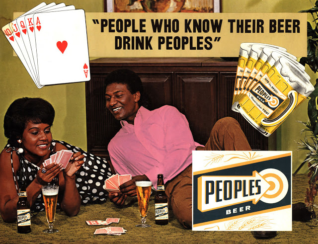 Peoples Brewing Company ad from 1971.