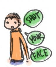shutyourface