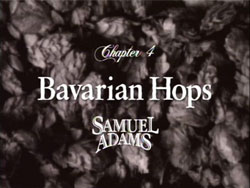 Chapter 4: Bavarian Hops (Samuel Adams)