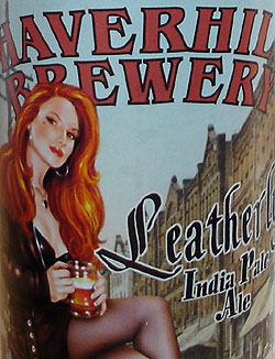 Leatherlips IPA (bottled) from The Tap / Haverhill Brewery