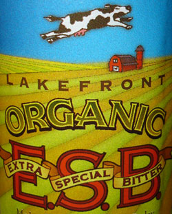 Lakefront Brewery Organic ESB
