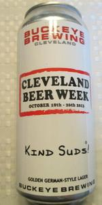 2013 Cleveland Beer Week Golden German-Style Lager