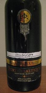 Grande Cuvée Porter Baltique - Fûts De Bourbon Et Brandy