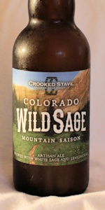 Colorado Wild Sage Mountain Saison