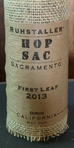 Hop Sac First Leaf - California Wet Hop Ale (2013)