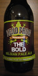 The Bold Belgian Pale Ale