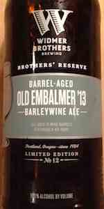 Barrel-Aged Old Embalmer (Brothers' Reserve Series)