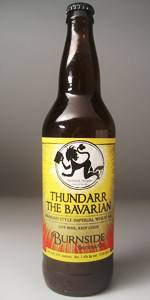 Thundarr The Bavarian (Bavarian Style Imperial Wheat Ale)