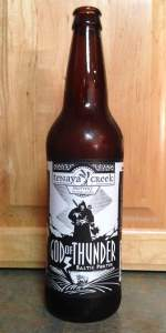 God Of Thunder Baltic Porter