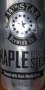 Maple Breakfast Stout