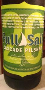 """26"" Anniversary Cascade Pilsner"