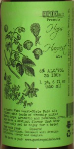 Hops Harvest Ale