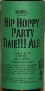 Hip Hoppy Party Time!!! Ale