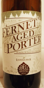 Fernet-Aged Porter