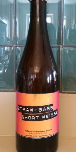 Smuttynose Short Batch #21 - Straw - Barb Short Weisse