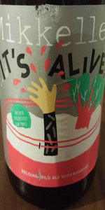 It's Alive! (Rhubarb Edition)