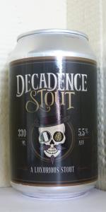 Decadence Stout