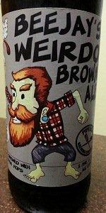 Beejay's Weirdo Brown Ale