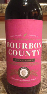 Bourbon County Backyard Rye backyard rye bourbon county brand stout | goose island beer co