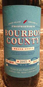 Proprietor's Bourbon County Brand Stout (2013)