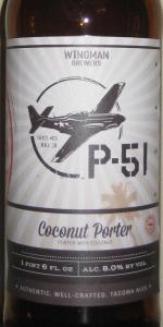 P-51 Coconut Porter