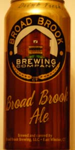 Broad Brook Ale