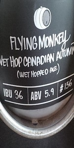 Flying Monkeys Wet Hop Canadian Autumn