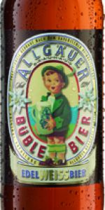 Allgäuer Büble Bier Edelweissbier