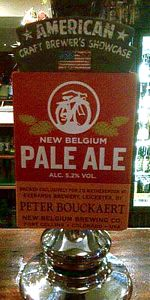 Pale Ale (Cask-Conditioned)