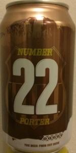 Number 22 Porter