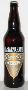 MacTarnahan's Gran Luxe Tripel Ale