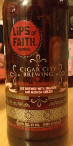 New Belgium / Cigar City - Lips of Faith - Ale Brewed With Anaheim And Mara