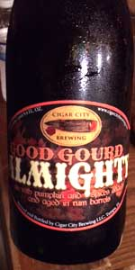Good Gourd Almighty Rum Barrel-aged