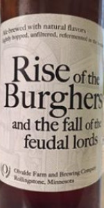 Rise Of The Burghers And The Fall Of The Feudal Lords
