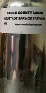 Neustadt Bruce County Premium Lager