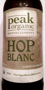 Peak Organic Hop Blanc