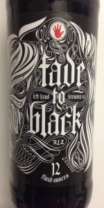 Fade To Black (Volume 5 - Black Rye Ale)