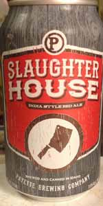 Slaughterhouse Red India Ale