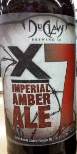 X-7 (Imperial Amber Ale)