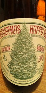 Our Special Ale 2013 (Anchor Christmas Ale)