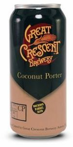 Great Crescent Bourbon Barrel Aged Coconut Porter